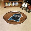 """Carolina Panthers 22""""x35"""" Football Mat  from: USD$24.95"""