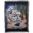 "Carolina Panthers 48""x60"" Home Field Advantage Blanket Throw  from: USD$34.95"