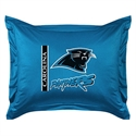 Carolina Panthers Locker Room Pillow Sham  from: USD$24.95