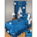 Carolina Panthers Queen Size Locker Room Bedroom Set  from: USD$279.95