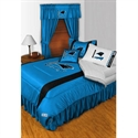 Carolina Panthers Twin Size Sideline Bedroom Set  from: USD$249.95