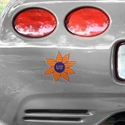 Florida Gators #11 Orange Flower Decal  from: USD$5.95
