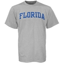 Florida Gators Ash Horizontal Arch Logo T-shirt  from: USD$12.95