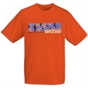 Florida Gators Orange Hawaiian Print T-shirt  from: USD$12.95