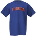 Florida Gators Royal Blue Arch Logo T-shirt  from: USD$12.95