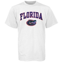 Florida Gators White Bare Essentials T-shirt  from: USD$12.95