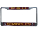 Florida State Seminoles Chrome Hologram License Plate Frame  from: USD$16.95