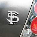 Florida State Seminoles (fsu) Chrome Auto Emblem  from: USD$17.95