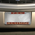 Florida State Seminoles (fsu) Chrome License Plate Frame  from: USD$17.95