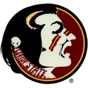 Florida State Seminoles (fsu) Small Window Cling  from: USD$2.25