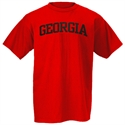 Georgia Bulldogs Red Arch Logo T-shirt  from: USD$12.95