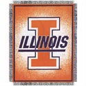 "Illinois Fighting Illini 48""x60"" Focus Series Acrylic Triple Woven Blanket Throw  from: USD$29.95"