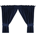 "Illinois Fighting Illini 82"" X 84"" Long Drapes  from: USD$47.95"