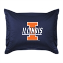 Illinois Fighting Illini Locker Room Pillow Sham  from: USD$24.95