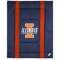 Illinois Fighting Illini Queen/full Size Sideline Comforter  from: USD$94.95
