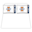 Illinois Fighting Illini Queen Size Sheet Set  from: USD$59.95