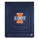 Illinois Fighting Illini Twin Size Locker Room Comforter  from: USD$74.95