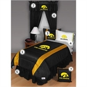 Iowa Hawkeyes Queen Size Sideline Bedroom Set  from: USD$289.95