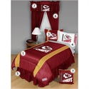 Kansas City Chiefs Queen Size Sideline Bedroom Set  from: USD$289.95
