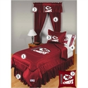 Kansas City Chiefs Twin Size Locker Room Bedroom Set  from: USD$244.95