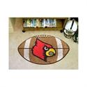 """Louisville Cardinals 22""""x35"""" Football Mat  from: USD$24.95"""