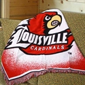 "Louisville Cardinals 48"" X 60"" Focus Series Acrylic Triple Woven Blanket Throw  from: USD$29.95"