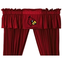 "Louisville Cardinals 88"" X 14"" Window Valance  from: USD$29.95"