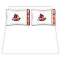 Louisville Cardinals Queen Size Sheet Set  from: USD$59.95