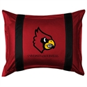 Louisville Cardinals Sideline Pillow Sham  from: USD$28.95