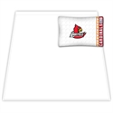 Louisville Cardinals Twin Size Sheet Set  from: USD$49.95
