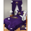 Lsu Tigers Queen Size Locker Room Bedroom Set  from: USD$279.95