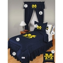 Michigan Wolverines Twin Size Locker Room Bedroom Set  from: USD$244.95