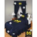 Michigan Wolverines Twin Size Locker Room Bedroom Set  from: USD$244.95