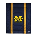 Michigan Wolverines Twin Size Sideline Comforter  from: USD$84.95