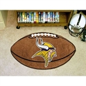"Minnesota Vikings 22""x35"" Football Mat  from: USD$24.95"