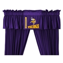 "Minnesota Vikings 88"" X 14"" Window Valance  from: USD$29.95"