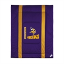 Minnesota Vikings Queen/full Size Sideline Comforter  from: USD$94.95