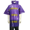 Minnesota Vikings Short Sleeve Poncho  from: USD$6.95