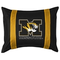 Missouri Tigers Sideline Pillow Sham  from: USD$28.95