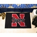 "Nebraska Cornhuskers 20"" X 30"" Starter Mat  from: USD$19.95"