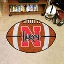 "Nebraska Cornhuskers 22""x35"" Football Mat  from: USD$24.95"