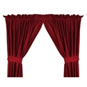 "Nebraska Cornhuskers 82"" X 63"" Short Drapes  from: USD$42.95"
