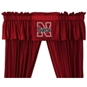 "Nebraska Cornhuskers 88"" X 14"" Window Valance  from: USD$29.95"