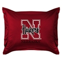 Nebraska Cornhuskers Locker Room Pillow Sham  from: USD$24.95