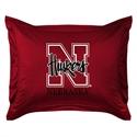 Nebraska Cornhuskers Locker Room Pillow Sham  from: USD$24.95