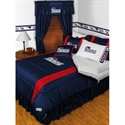 New England Patriots Twin Size Sideline Bedroom Set  from: USD$249.95