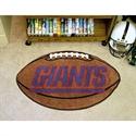 "New York Giants 22""x35"" Football Mat  from: USD$24.95"