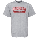 Nike Georgia Bulldogs Ash Alumni T-shirt  from: USD$18.00