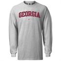 Nike Georgia Bulldogs Ash College Classic Long Sleeve T-shirt  from: USD$23.95