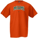Nike Miami Hurricanes Orange College Classic T-shirt  from: USD$18.00